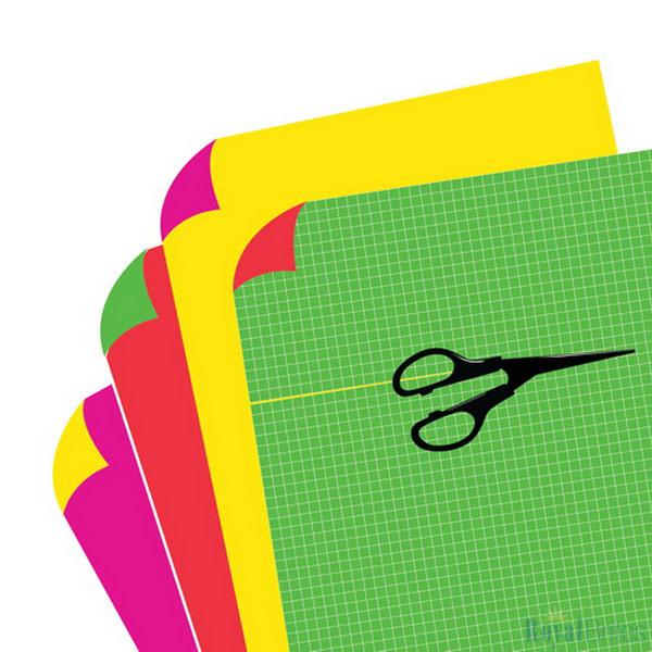 E-Z-Print Sign Board Fluorescent Neon 2 Cool Colors Royal Brites