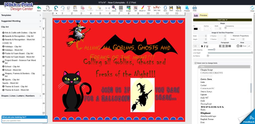 Halloween-E-Z-Poster Iclicknprint