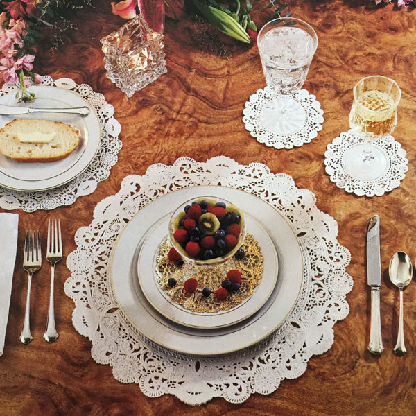 Royal Lace Doilies for Table Setting