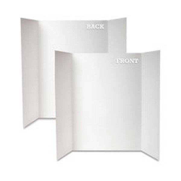 White Grid Foam Project Boards Tri Fold Royal Brites