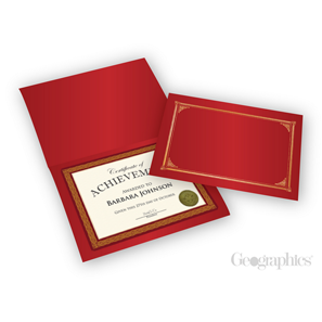 certificate holders covers geographics
